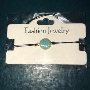Blue rocky stone bracelet